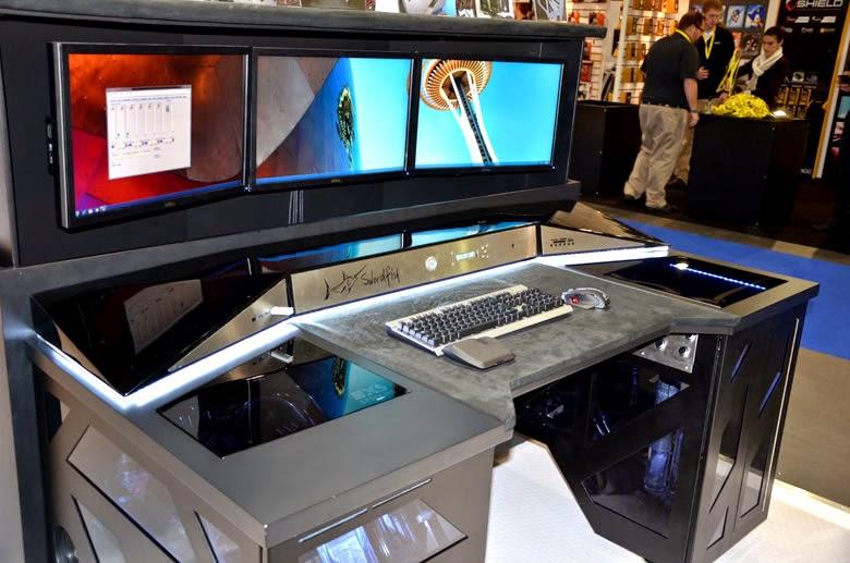 Diy Pc Desk Mods Pc Case Mods