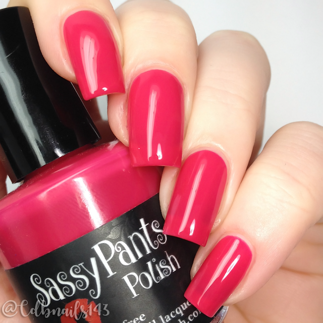 Sassy Pants Polish-Kiss Off!