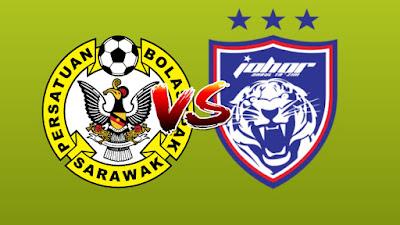 Live Streaming Sarawak vs JDT II Challenge Cup 12.9.2019