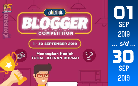 Kompetisi Blog - Informa Berhadiah Iphone X + Voucher