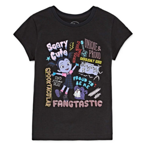 JCPENNEY - Disney Girls Short Sleeve Vampirina Graphic T-Shirt $9