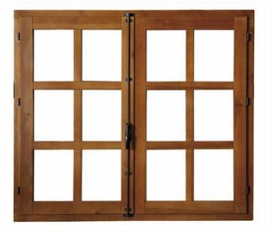 model kusen dan jendela kayu
