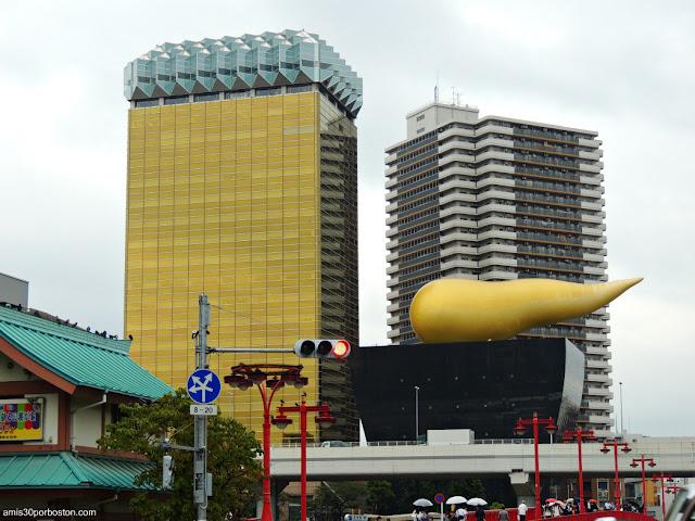 Asahi Breweries en Sumida City, Tokio