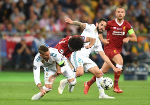 Champions League final: Real Madrid beat Liverpool to win trophy for third consecutive year