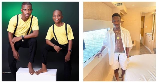 Don't put me in trouble-Actor Alesh cries out after his Junior brother demands for rollerblade