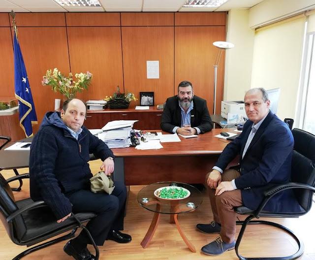 Επαφές Τ. Τόκα για νέες λειτουργικές υποδομές στα σχολικά κτίρια του Δήμου Ερμιονίδας