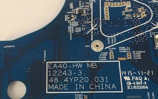 Acer Aspire E1-472G Mainboard EA40-HW MB 12243-3 48.4YP20.031