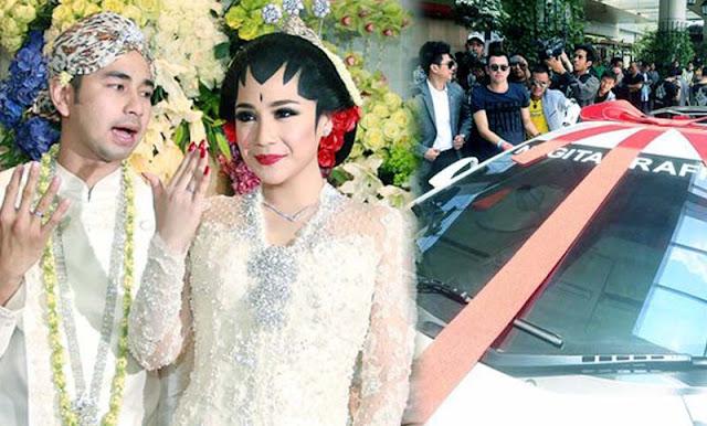 Pernikahan Mewah Raffi Ahmad dan nagita slavina