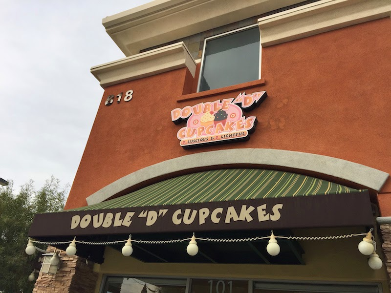 Double D Cupcakes in Lancaster CA as seen on Cupcake Wars on Food Network
