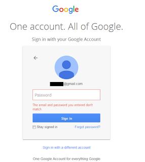 Gmail Password Recovery Korea