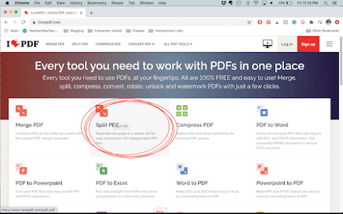If you are a 1:1 teacher or doing distance learning, learning how to remove pages from a PDF is a technology skill every teacher needs to have! This post teaches you how to extract pages from a PDF document for students to use online.