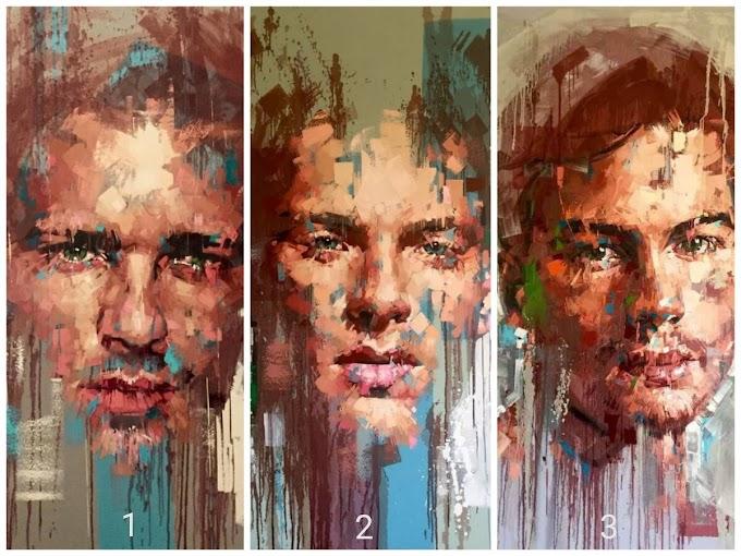 Выберите мужской портрет, чтобы получить важное послание от Вселенной