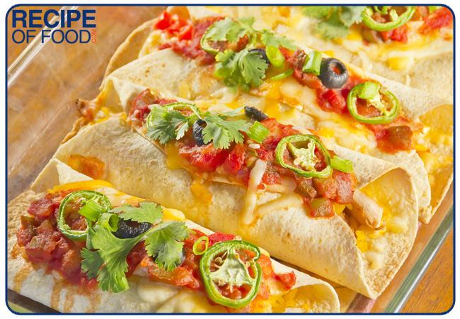Veg Enchiladas Recipe or Paneer Enchiladas Recipe