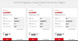 Harga Paket Internet GigaMax