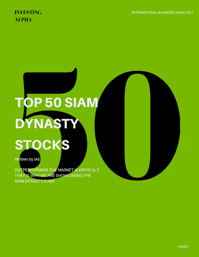 TOP 50 SIAM STOCKS FOR 2018