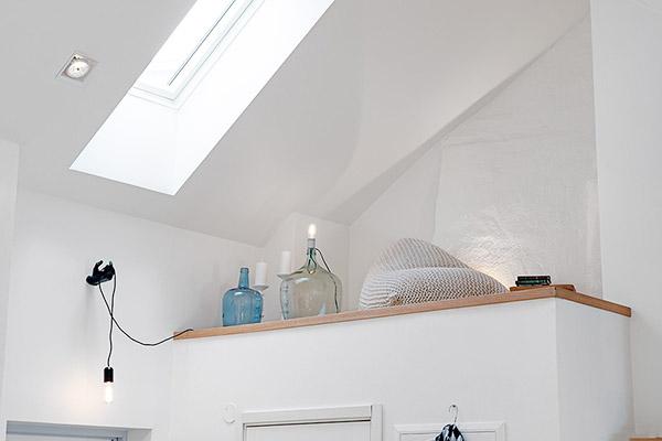 décoration style scandinave grosses bouteilles en verre lampes