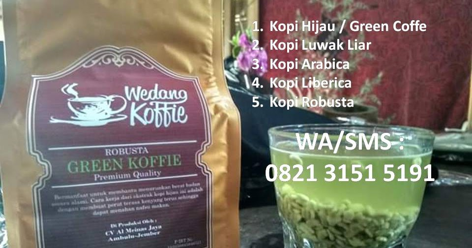 jual green coffee di jogja