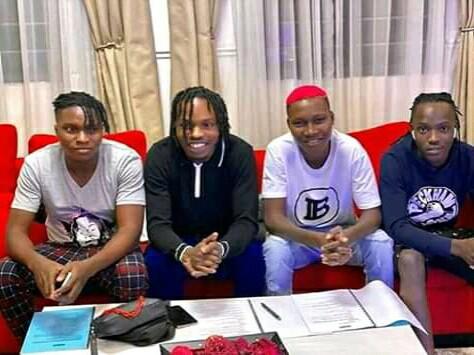 Naira Marley Signed Zinoleesky to Marlians Musics