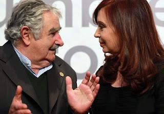 José Mujica y Cristina Fernández frente a frente