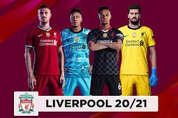Liverpool Kits 2020/2021 - PES 2020