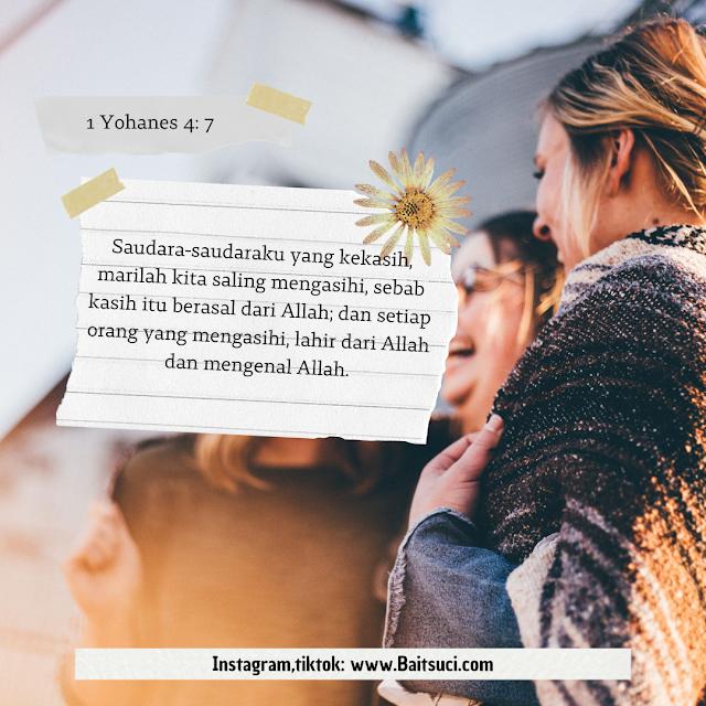 Ayat Ayat Alkitab yang berbicara tentang Persahabatan
