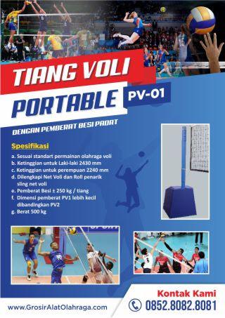 tiang voli portable pv-01