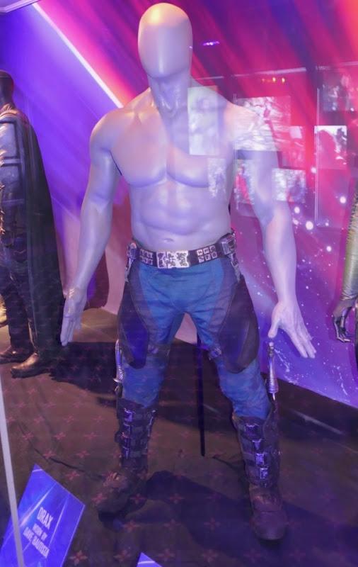 Dave Bautista Avengers Infinity War Drax costume