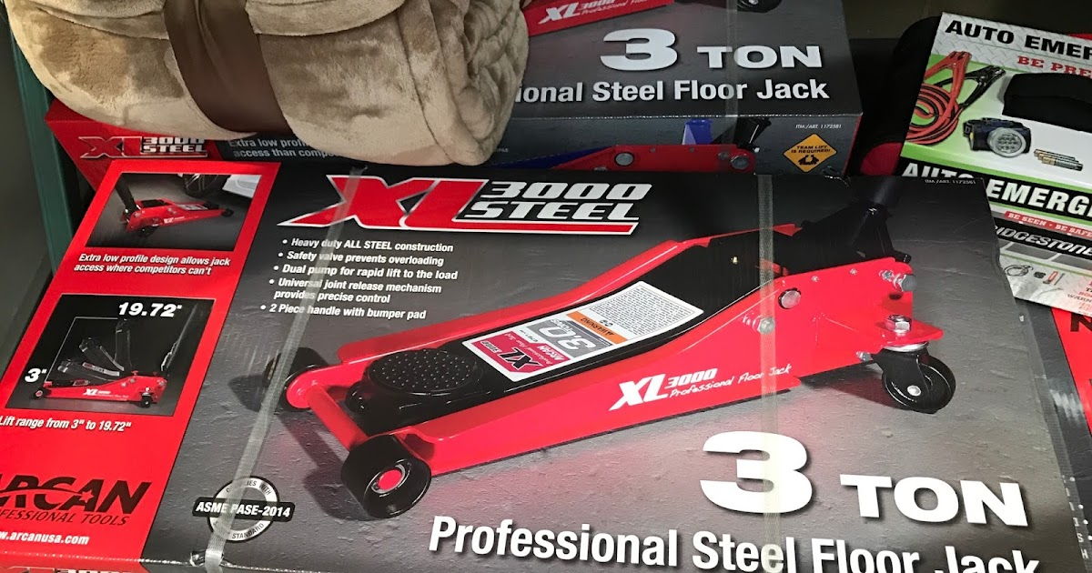 Arcan Xl3000 3 Ton Professional Steel Floor Jack Costco
