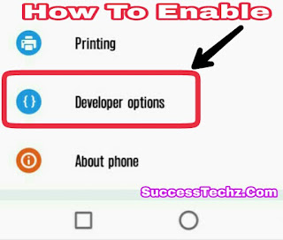 How To Activate/Enable Developers Mode On Android Device