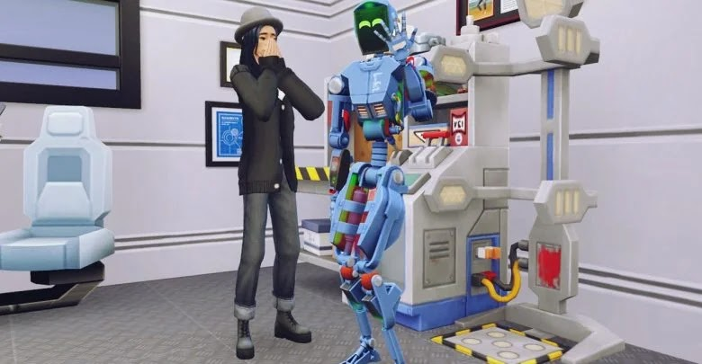 How to create a Plumbot in The Sims 4: College Days