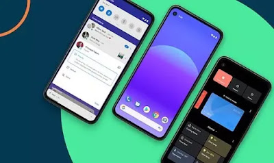 Gambar  smartphone yang cicipi Android 11