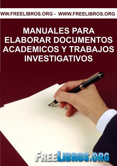 Manuales para elaborar documentos académicos y trabajos investigativos