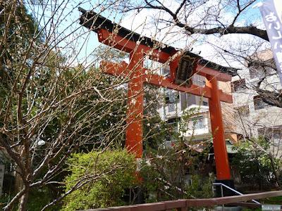 産湯稲荷神社鳥居