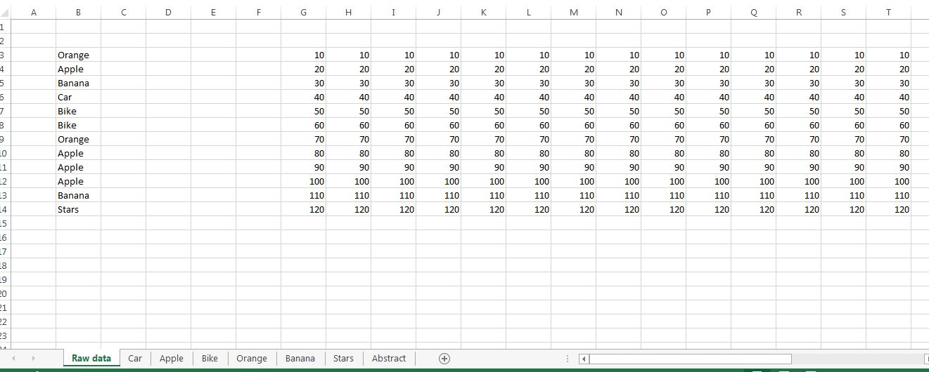 Copy rows to different sheets if sheet name matches with