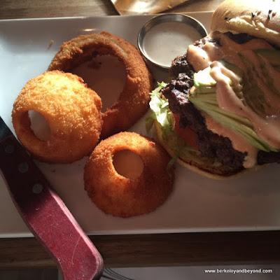 The Original Eureka! burger at Eureka! in Berkeley, California