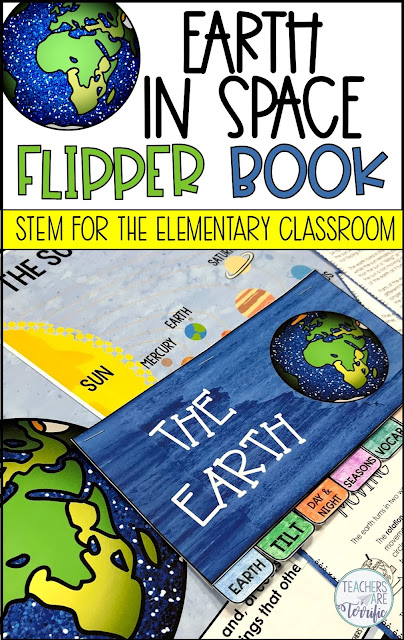 Here is a perfect booklet for using with your study of Earth and its unique features! Create a seven-page mini booklet with your students to research and learn more about earth. This is a fabulous way to introduce or reinforce your student's knowledge of a science topic. This Little Flipper is also perfect for a follow-up after a STEM Challenge!