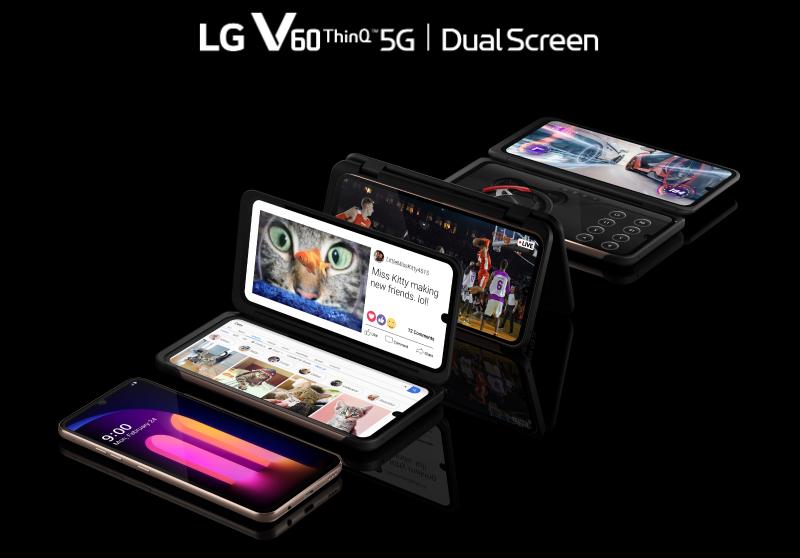 LG V60 ThinQ 5G Usung Dua Layar