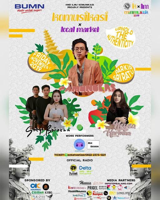 Poster Komusikasi 2019