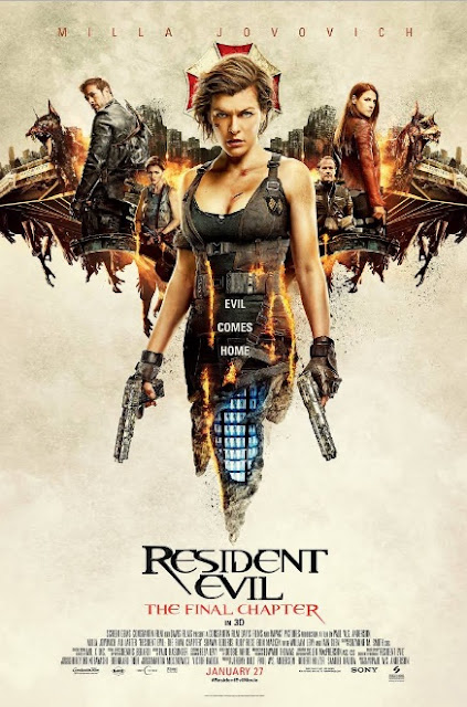 Sinopsis Resident Evil: The Final Chapter