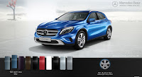 Mercedes GLA 200 2016 màu Xanh South Seas 162
