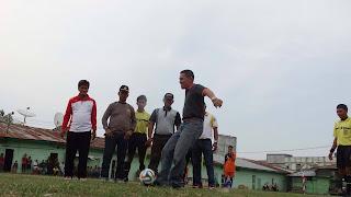 Rayakan HUT TNI ke 70, Kodim 0103/AUT Gelar Turnamen Sepakbola