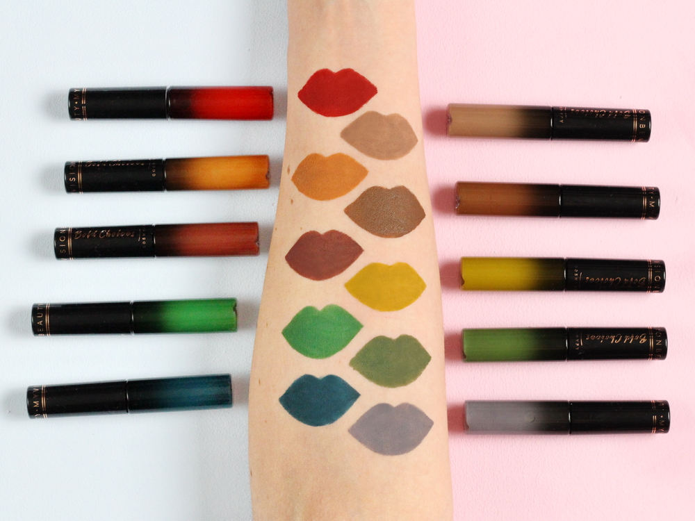 Cosmyfy Bold Liquid lipstick Swatch