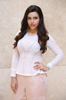 Kyra Dutt in Tight White Top Trousers at Paisa Vasool audio success meet ~  Exclusive Celebrities Galleries 024.JPG