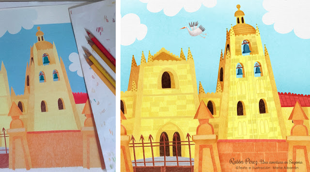 Raton Perez - Catedral - Segovia - Maria Albarran Ilustracion