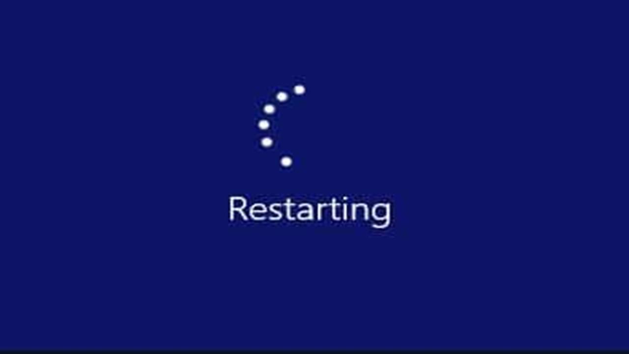 Restart Komputer