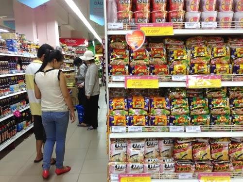 Nguyên tắc bày hàng trên kệ siêu thị