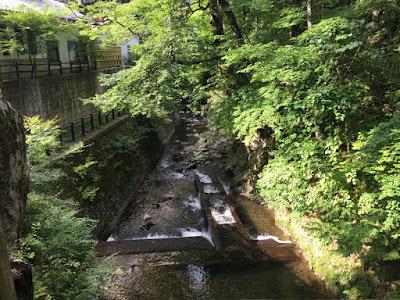 五台橋から見る内村川