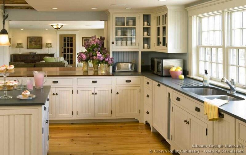 Beadboard Kitchen Cabinets Design 2011