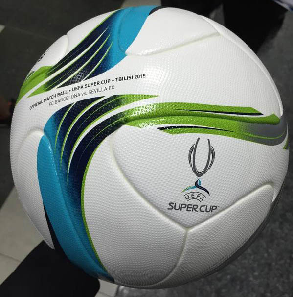 Uefa Super Cup: Adidas 2015 UEFA Super Cup Ball Released