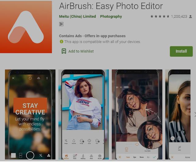 5+ Aplikasi Editor Foto (Gratis & Berbayar) Untuk Android  3